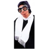 Aviator Scarf White